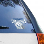 Fanatics Indianapolis Colts 2013 AFC South Division Champions 4'' x 6'' Ultra Decal