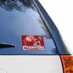 Fanatics Oklahoma Sooners 2014 Sugar Bowl Champions 4'' x 6'' Car Decal