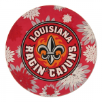 "Fanatics Louisiana-Lafayette Ragin Cajuns 4"" Floral Round Decal"