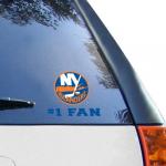 "Fanatics New York Islanders WinCraft #1 Fan 3"" x 4"" Decal"