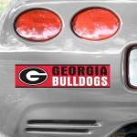 Fanatics Georgia Bulldogs WinCraft Bumper Sticker