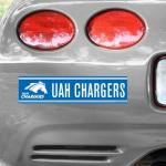 Fanatics UAH Chargers Tier 12'' x 3'' Bumper Sticker