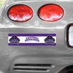 Fanatics Central Arkansas Bears  Tier 12'' x 3'' Bumper Sticker