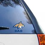 Fanatics Montana State Bobcats WinCraft Dad 3'' x 4'' Decal