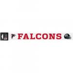 """Fanatics Atlanta Falcons WinCraft 2"""" x 17"""" Perfect Cut Decal"""