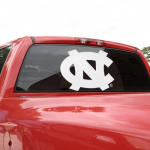 Fanatics North Carolina Tar Heels (UNC) 18'' x 18'' White Logo Decal