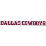 "Fanatics Dallas Cowboys 2"" x 19"" Glitter Strip Decal - Pink"