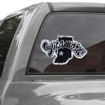Fanatics Indiana State Sycamores 12'' Metallic Car Decal