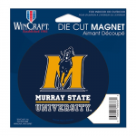 Fanatics Murray St. Racers 4'' Tier Circle Car Magnet