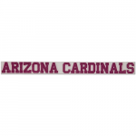 "Fanatics Arizona Cardinals 2"" x 19"" Glitter Strip Decal - Pink"