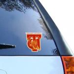 "Fanatics Tuskegee Golden Tigers 4"" x 4"" Team Logo Car Decal"