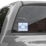 Fanatics North Carolina Tar Heels (UNC) 5'' x 6'' We Are Tar Heels Decal