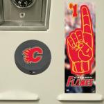 Fanatics Calgary Flames Puck & #1 Fan Locker Decal Set