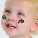 Fanatics Colorado Buffaloes 4-Pack Face Decals