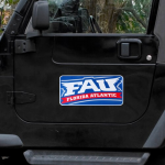 "Fanatics FAU Owls 8"" x 16"" Car Magnet"