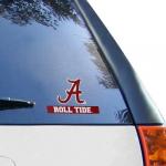 "Fanatics Alabama Crimson Tide WinCraft 4"" x 5"" Roll Tide Perfect Cut Decal"