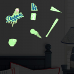 Fanatics L.A. Dodgers Lil' Buddy Team Glow Sticker Kit