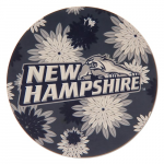 "Fanatics New Hampshire Wildcats 4"" Floral Round Decal"