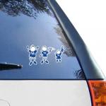 Fanatics Kentucky Wildcats 12'' x 12'' Family Car Decal Sheet