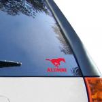 Fanatics SMU Mustangs WinCraft Alumni 3'' x 4'' Decal