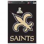 "Fanatics New Orleans Saints WinCraft 11"" x 17"" Name & Logo Multi-Use Decal Sheet"