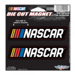 Fanatics WinCraft NASCAR 5'' x 5'' Car Magnet