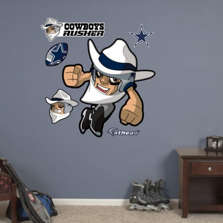 Fathead Dallas Cowboys NFL Rush Zone Wall Decal Set