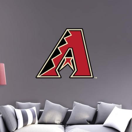 Arizona Diamondbacks Fathead Team Logo Wall Decal