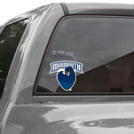 Monmouth University Hawks 8'' x 8'' Colored Die Cut Decal