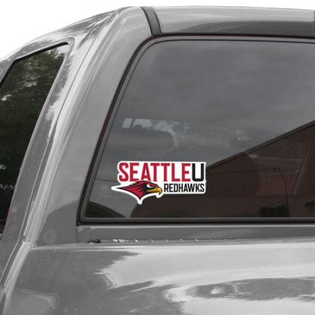 Seattle Redhawks 8'' x 8'' Colored Die Cut Decal