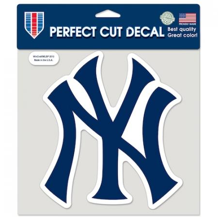 "New York Yankees 8"" Color Team Logo Car Decal"