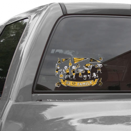 Southern Miss Golden Eagles Family Decals Sheet