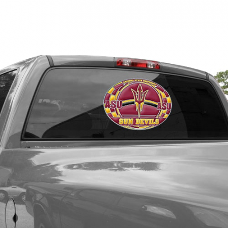 Arizona State Sun Devils WinCraft 11'' x 17'' Stained Glass Decal Sheet