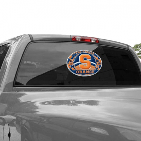 Syracuse Orange WinCraft 11'' x 17'' Stained Glass Decal Sheet