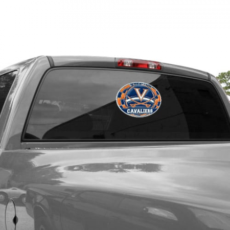 Virginia Cavaliers WinCraft 11'' x 17'' Stained Glass Decal Sheet