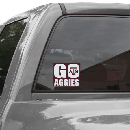 Texas A&M Aggies 5'' x 6'' Go Aggies Decal