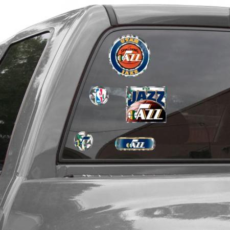 Utah Jazz WinCraft Prismatic Decal Sheet