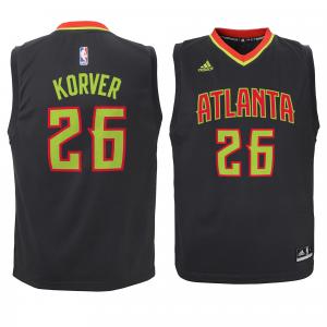 Kyle Korver Atlanta Hawks adidas Preschool Replica Jersey - Black