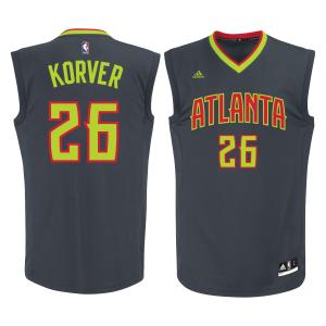 Kyle Korver Atlanta Hawks adidas Replica Jersey - Gray