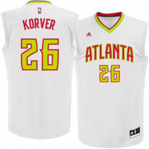 Kyle Korver Atlanta Hawks adidas Replica Basketball Jersey - White