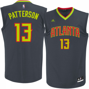 Lamar Patterson Atlanta Hawks adidas Replica Jersey - Black