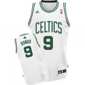 Rajon Rondo Boston Celtics adidas Youth Swingman Home Jersey - White