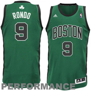 Rajon Rondo Boston Celtics adidas Swingman Alternate Jersey - Kelly Green