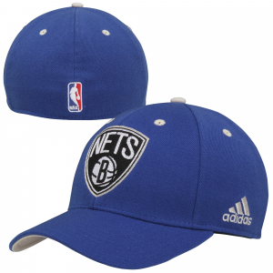 adidas Brooklyn Nets Alternate Jersey Hook Flex Hat - Royal Blue