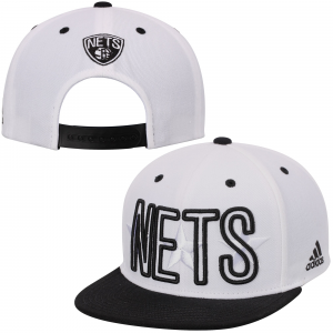 Brooklyn Nets adidas Nets Pride Jersey Snapback Adjustable Hat - White
