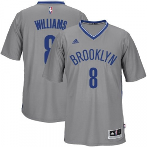 Deron Williams Brooklyn Nets adidas Player Swingman Alternate Jersey - Gray