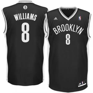 Deron Williams Brooklyn Nets adidas Replica Road Jersey - Black