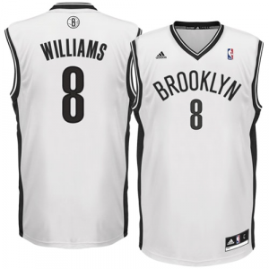 Deron Williams Brooklyn Nets adidas Replica Home Jersey - White