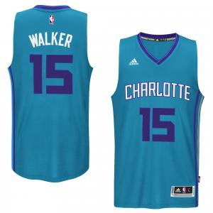 Kemba Walker Charlotte Hornets adidas Player Swingman Jersey - Teal