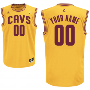 adidas Cleveland Cavaliers Youth Custom Replica Alternate Jersey